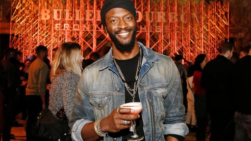 Aldis Hodge attends the Bulleit 3D Printed Frontier Launch at 16th Street Station on December 6, 2018 in Oakland, California. (Photo by Kimberly White/Getty Images for Bulleit Frontier Whiskey).