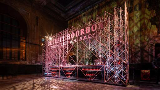 Bulleit 3D Printed Frontier launch night celebrating the first-ever Bulleit 3D-printed bar, on December 6, 2018 in Oakland, California.