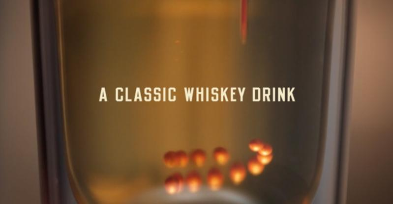 Play Video: A Classic Bulleit Whiskey Drink Now 3D Printed