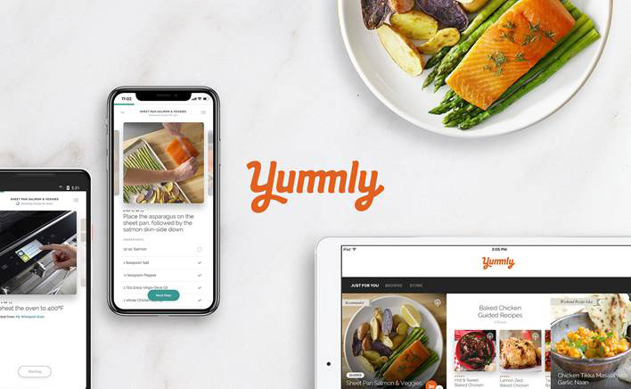 By using Yummly® Pro, a new platform on the Yummy app, home cooks will gain confidence in the kitchen with step-by-step guided video recipe instruction from well-known celebrity chefs and influencers.