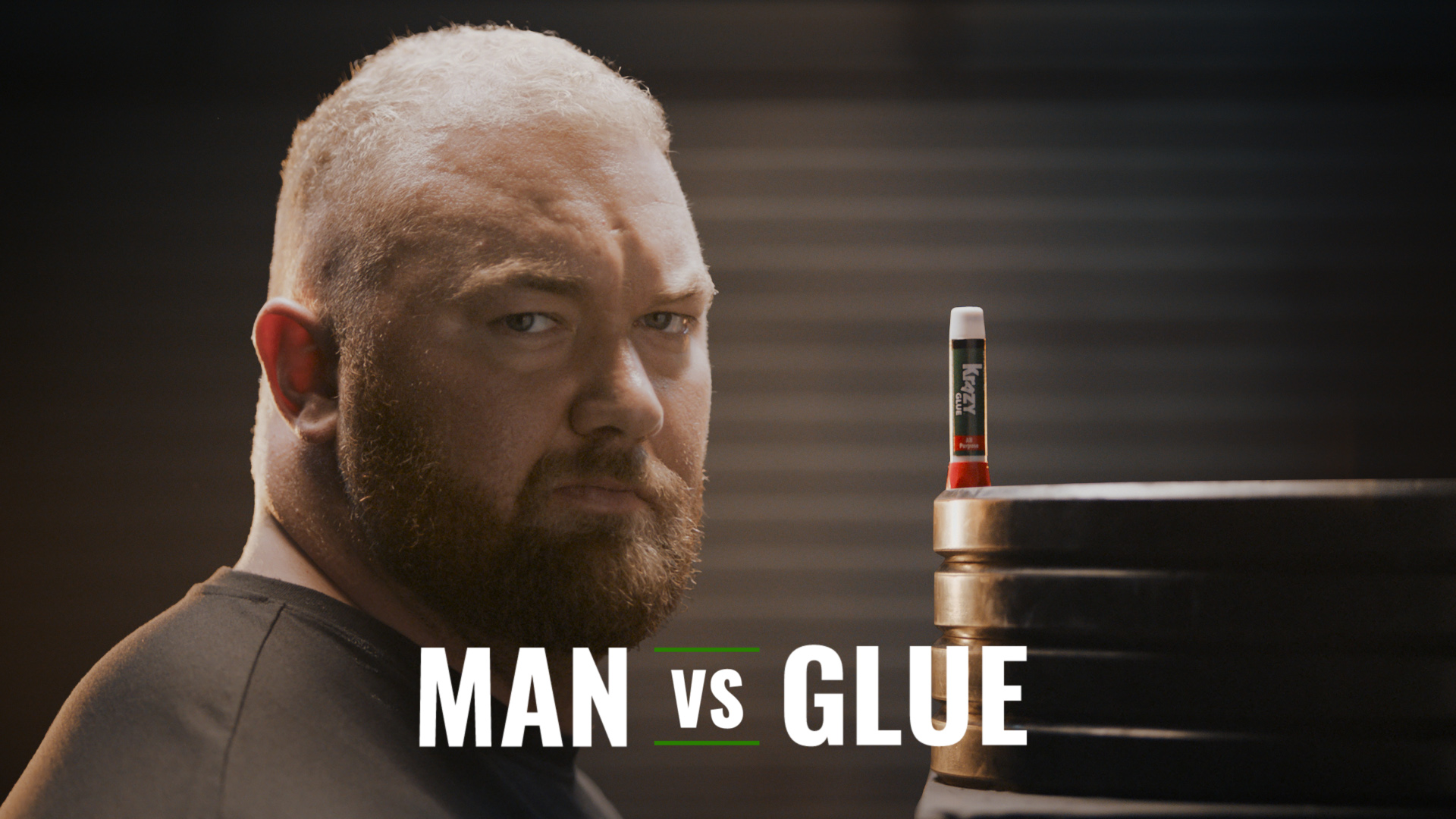 Krazy Glue® has challenged Hafthor Bjornsson, the World's Strongest Man, to put the product's strength and durability to the test in a krazy weight lifting challenge that will take place live on December 5, 2018, in New York City.