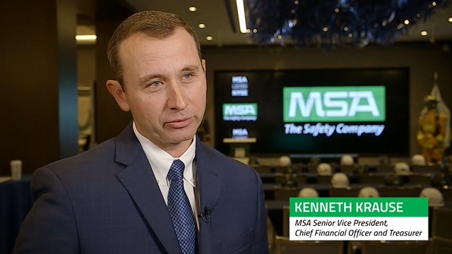 Kenneth Krause, Senior Vice President, CFO and Treasurer discusses how superior innovation, various growth programs, and accretive acquisitions have driven strong results for MSA.