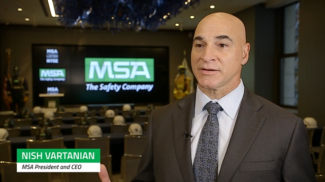 Nish Vartanian, MSA President and CEO talks about how the company's leading positions in attractive markets and strong talent pipeline will fuel success over the years ahead.