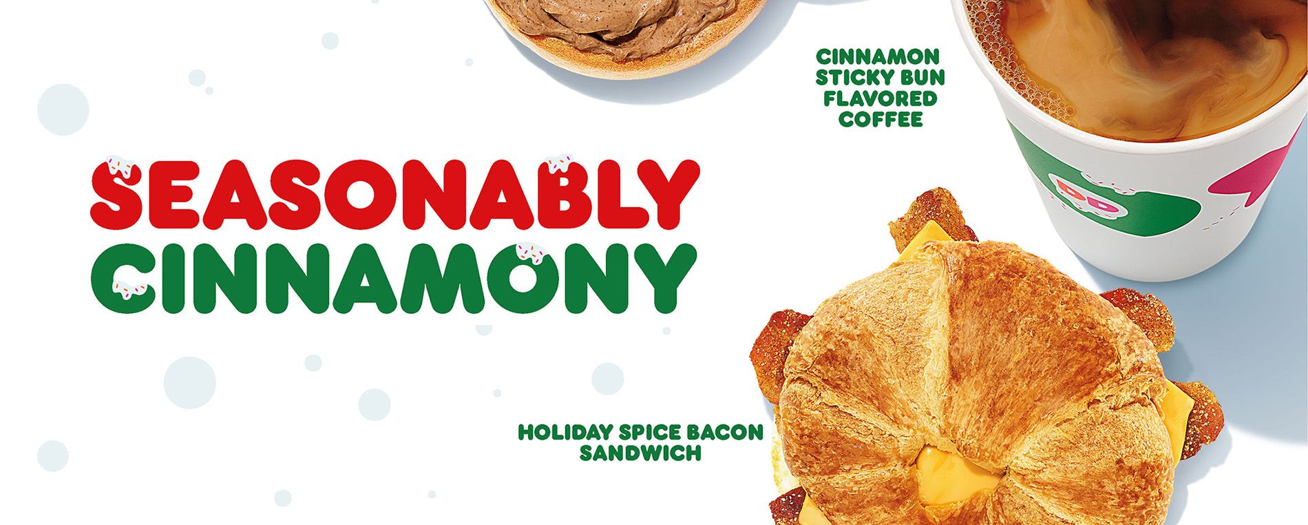 Dunkin's new holiday menu offerings