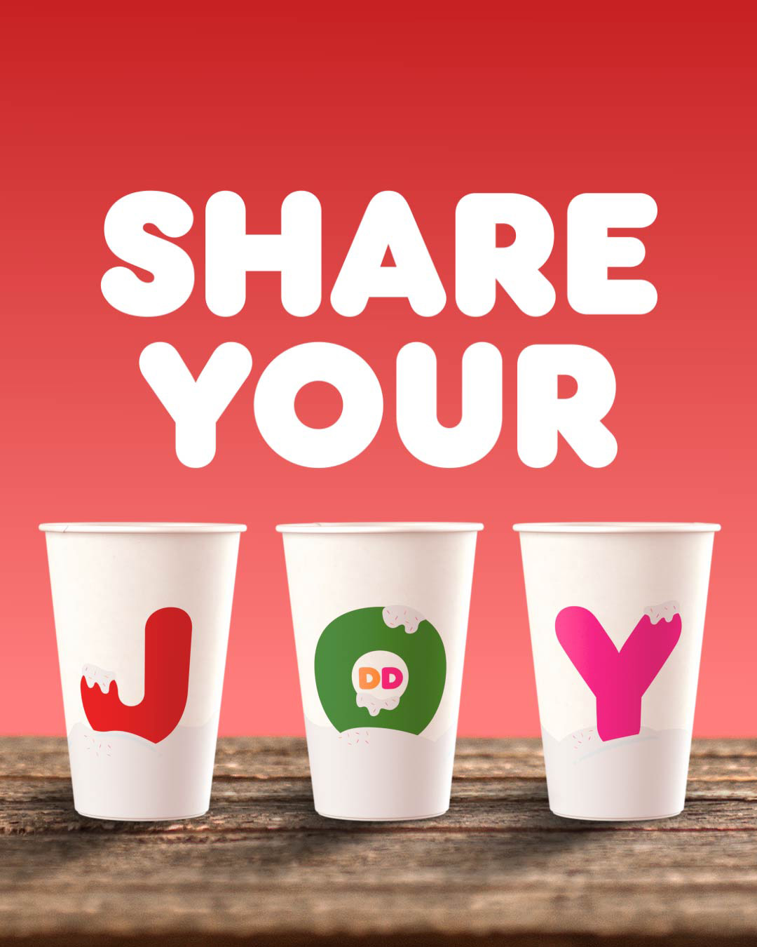 Our new 2018 JOY cups