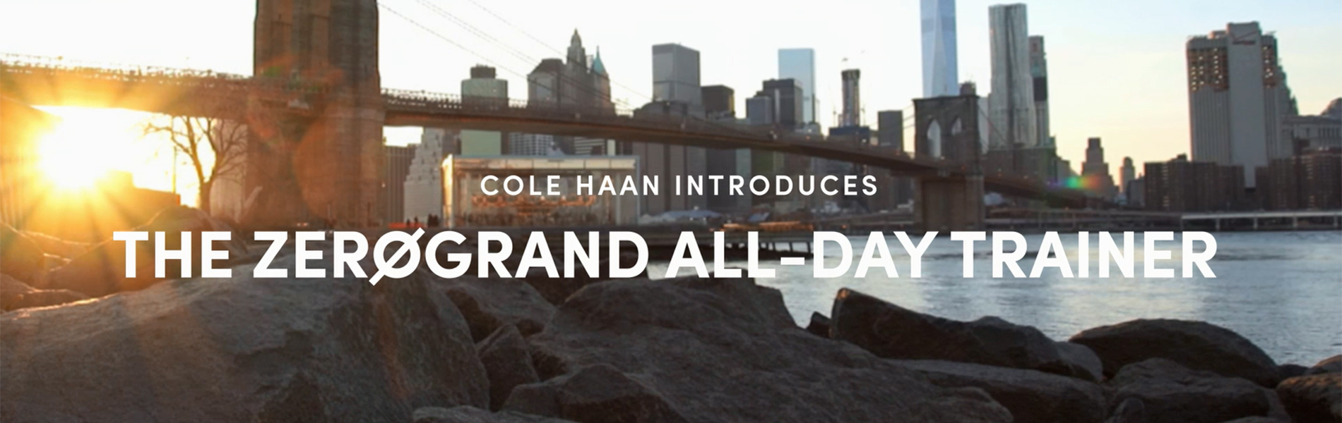Cole Haan Announces Launch Of The ZERØGRAND All-Day Trainer