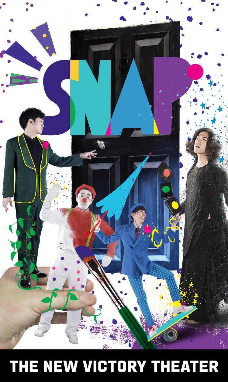 Poof! Presto! Snap! Playing with space, time and the otherworldly, this eclectic ensemble of South Korean illusionists will boggle your mind with their impressive powers.