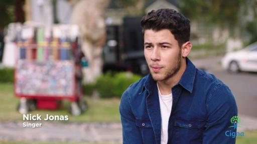 Play Video: Nick Jonas Ad Spot