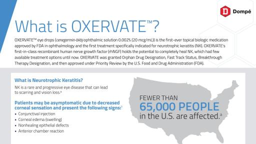 Oxervate & NK Fact Sheet