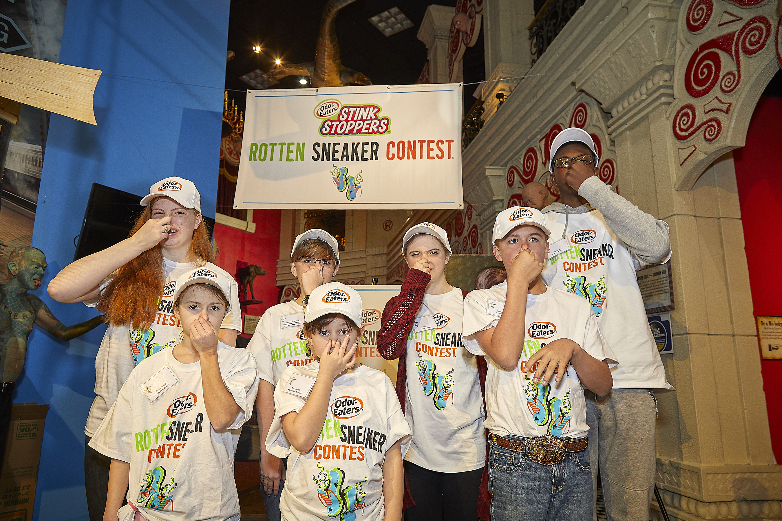 Odor-Eaters Rotten Sneaker Participants
