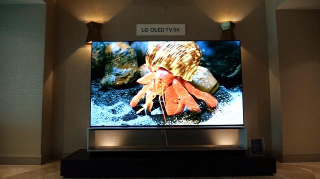 LG SIGNATURE OLED 88Z9 8K OLED TV