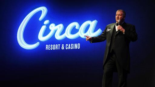 Derek Stevens reveals the name for his highly anticipated Downtown Las Vegas property, Circa Resort & Casino.