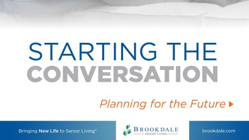 Starting the Conversation: Planning for the Future e-book
