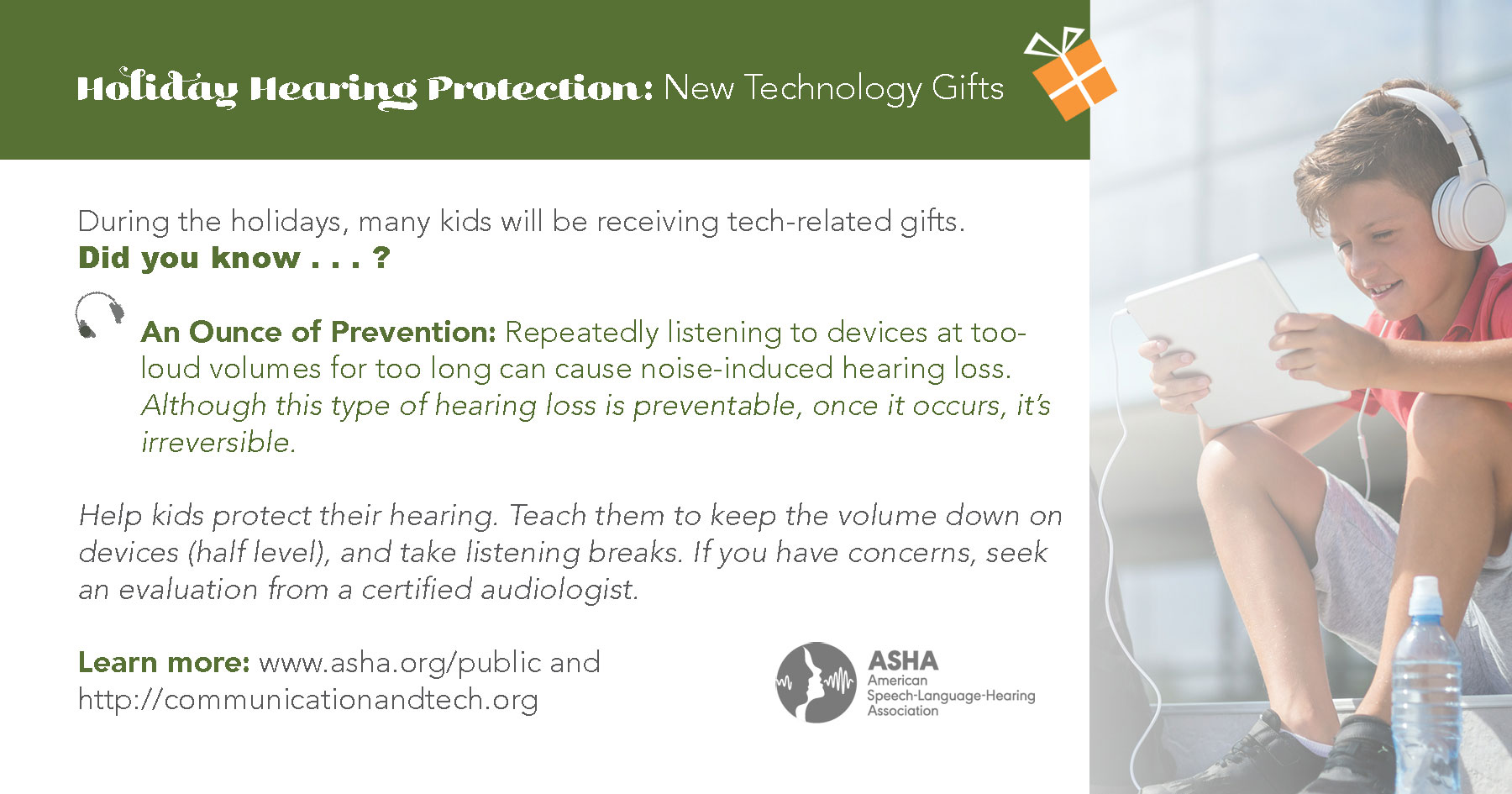 Technology & Hearing Loss: An Ounce of Prevention