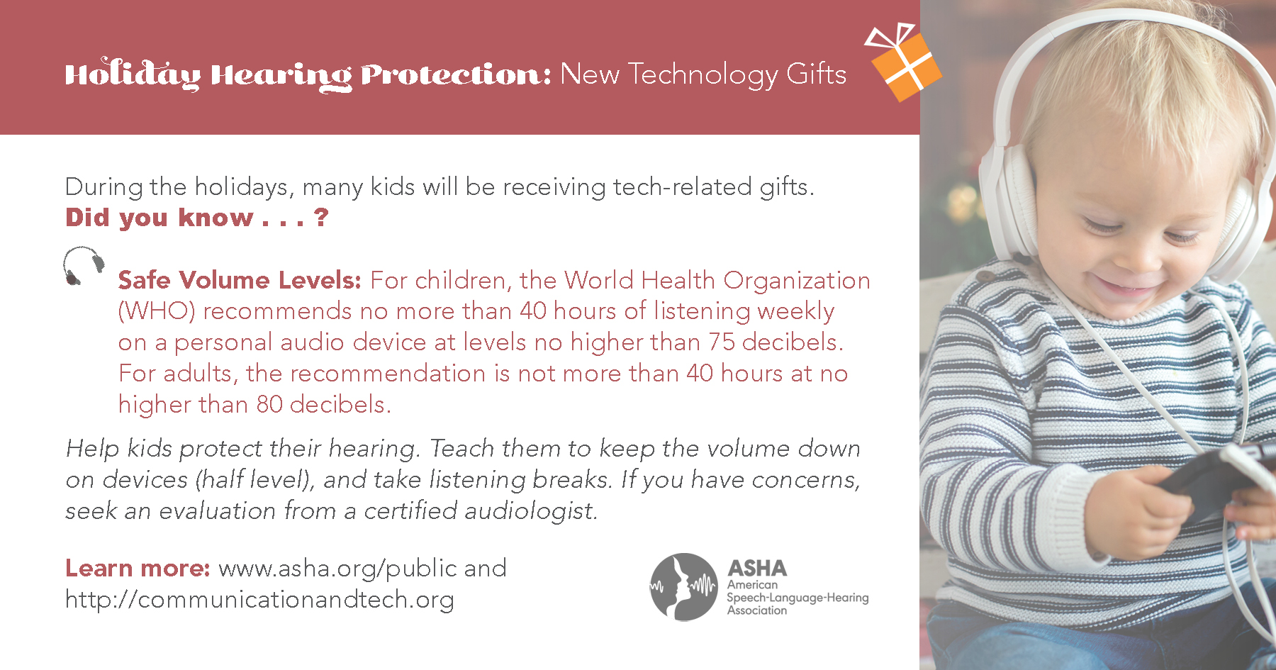 Technology & Hearing Loss: Safe Volume Levels