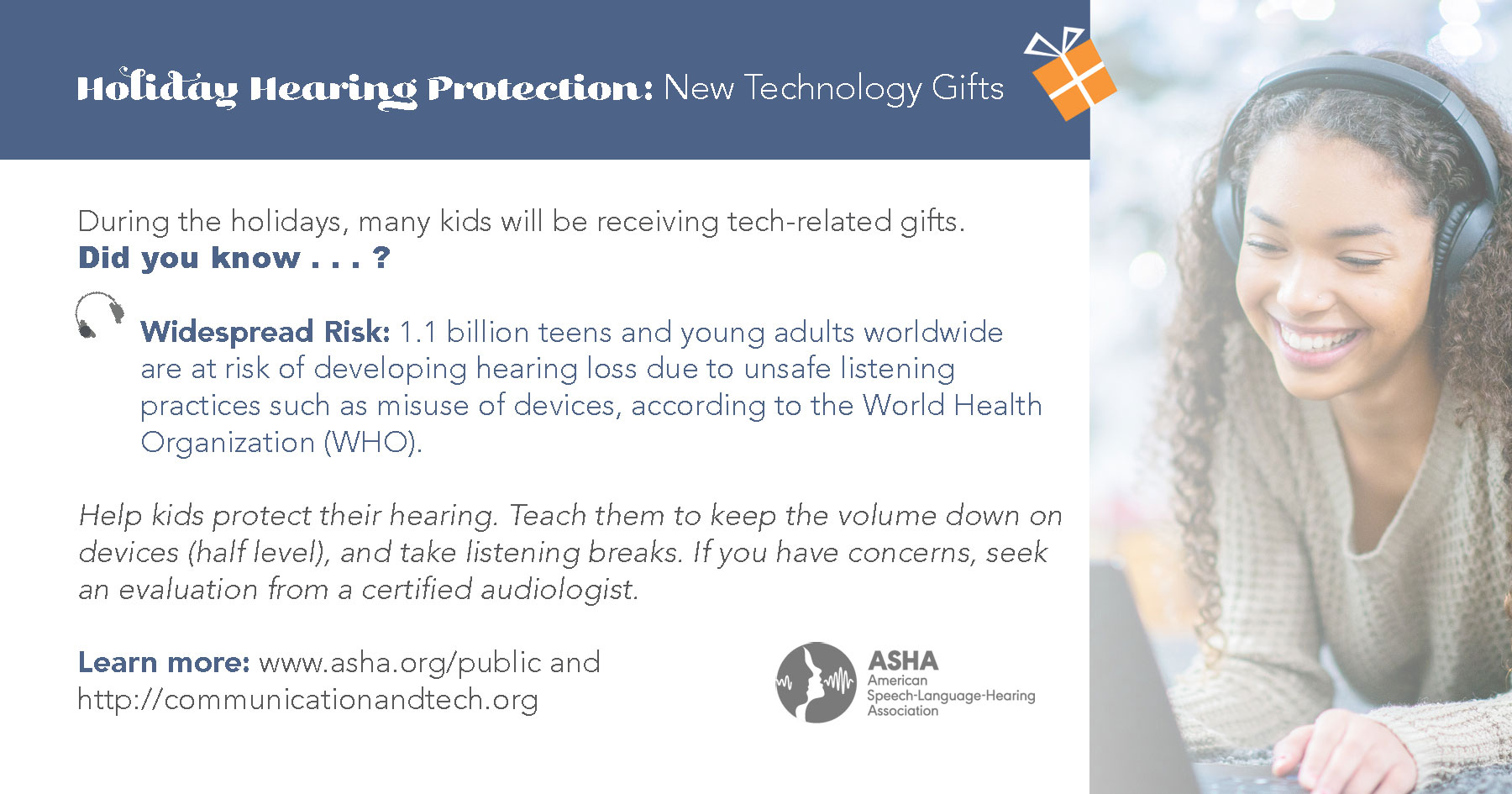 Technology & Hearing Loss: Widespread Risk