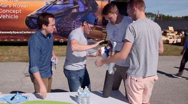 Brigham Young University Makes History, Sets New World Record in Bayer Alka-Rocket Challenge