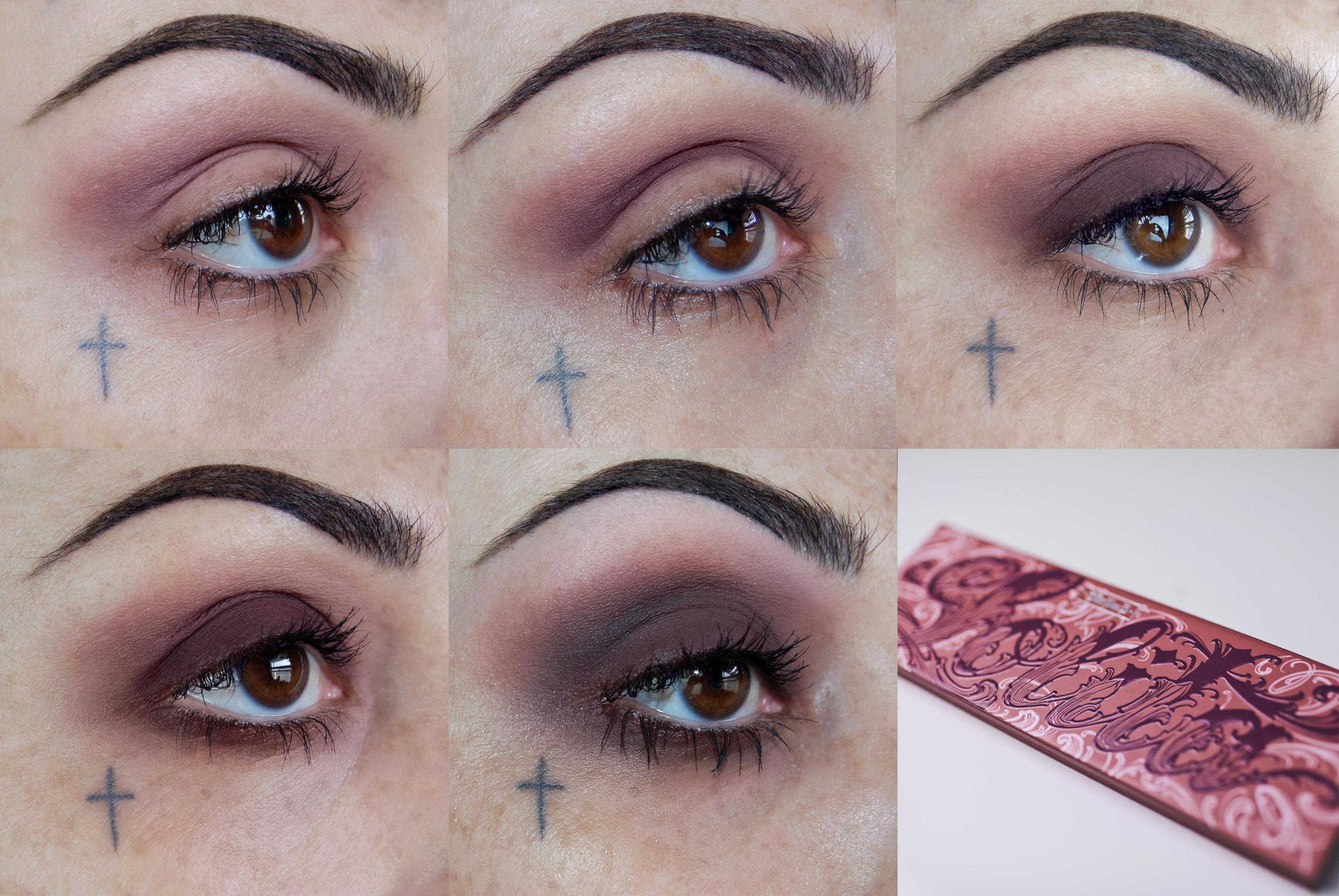 Kat Von D Beauty Artistry Collective Global Artist Leah Carmichael (@iamleah) wears the new Lolita Eyeshadow Palette