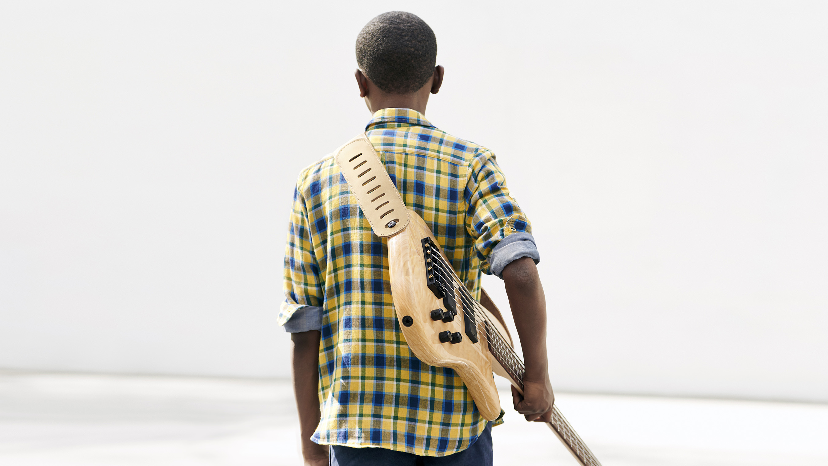 12-year-old bass guitarist @lilasmar hopes to inspire other kids to keep moving forward.