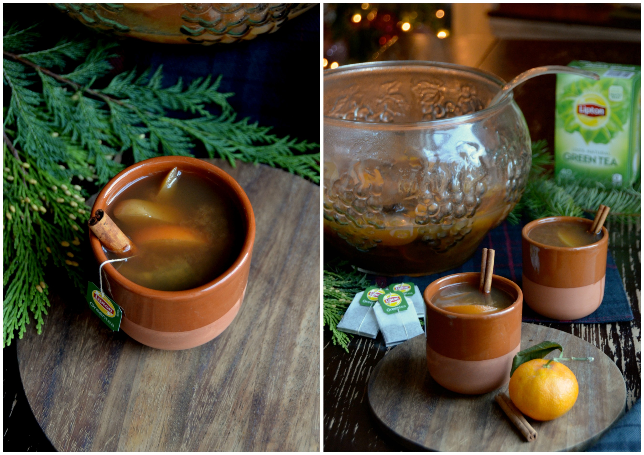 Lipton® Christmas Punch by food and lifestyle expert Alejandra Ramos