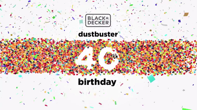Celebrating 40 Years of the dustbuster(R)