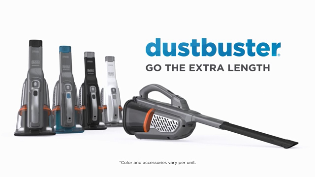 Eliminate the Mess with the New dustbuster(R) AdvancedClean+