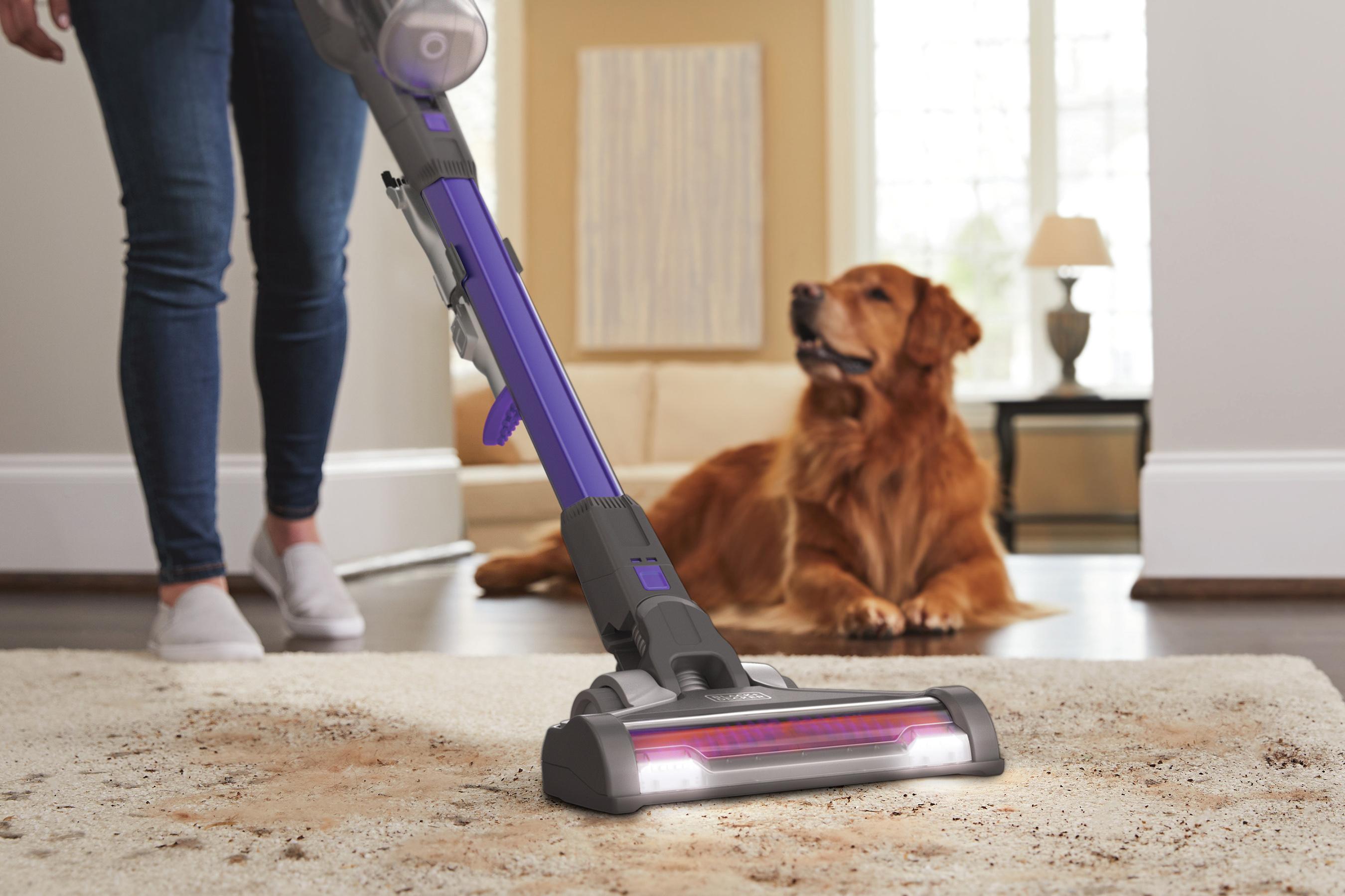 Anti-Tangle Brush Roll For Vacuuming Pet Hair