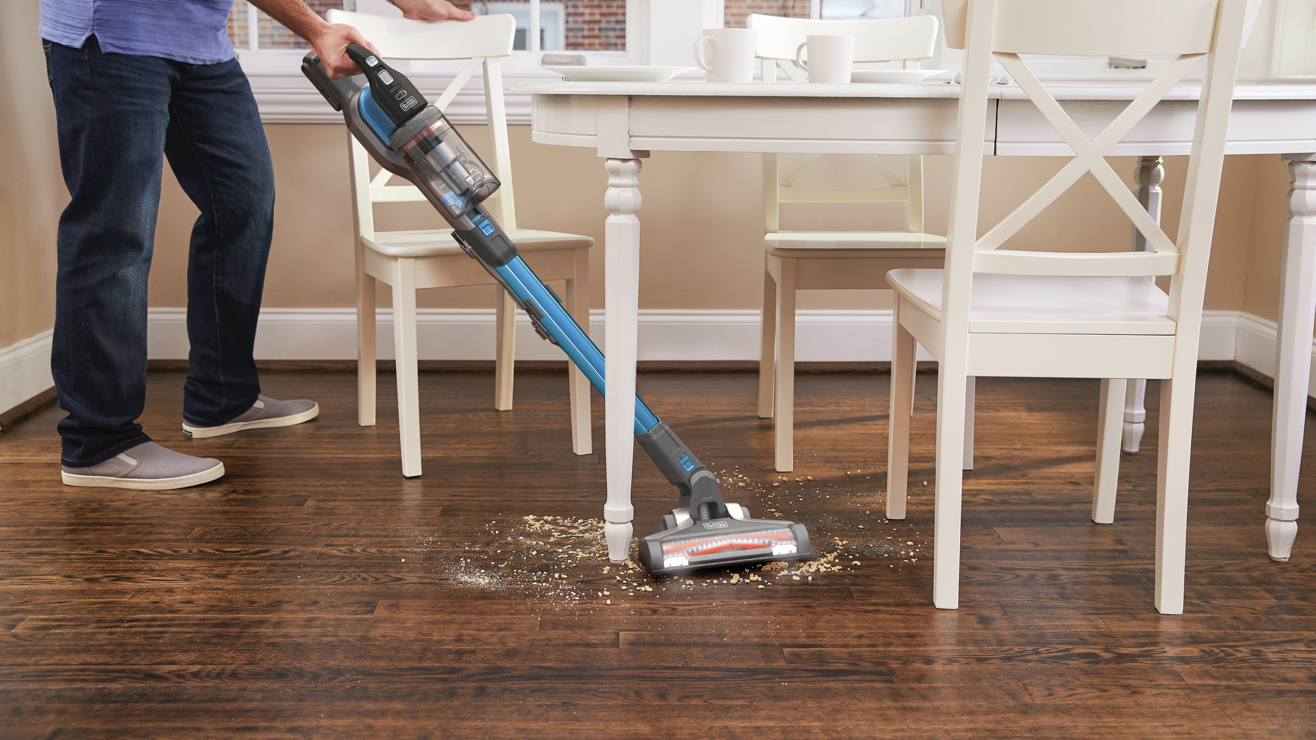The 3X Cleaning System Tackles Dirt, Dust & Debris