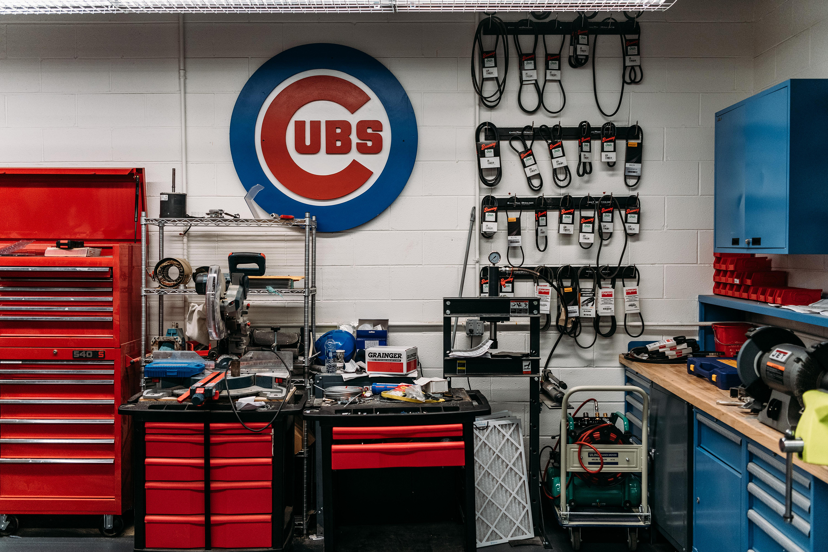 Grainger is the Official MRO Distributor and Services Partner of the Cubs and Wrigley Field