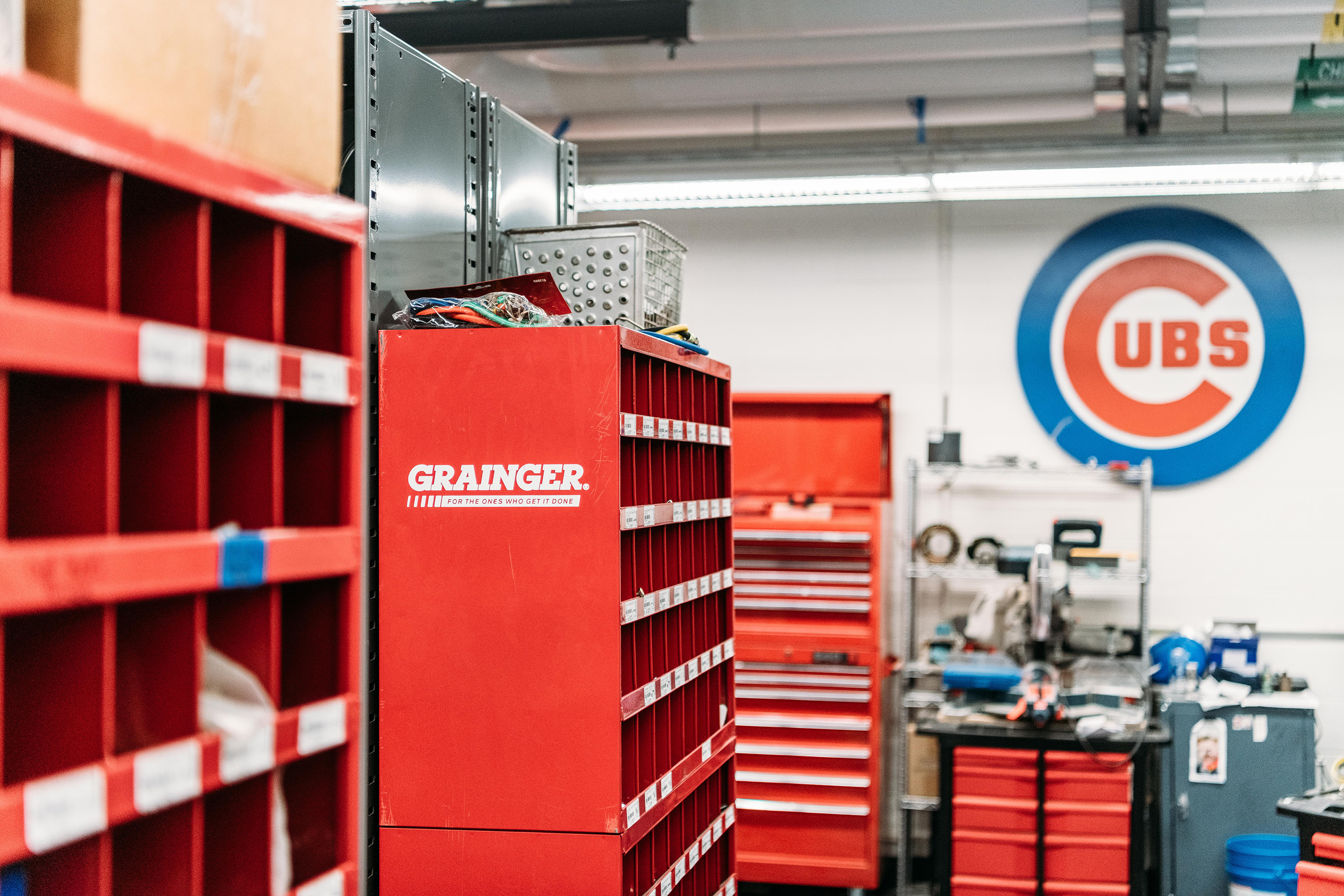 Whether it's through Grainger's broad line of products, inventory management solutions or safety services, the company continuously finds new ways to add value for customers