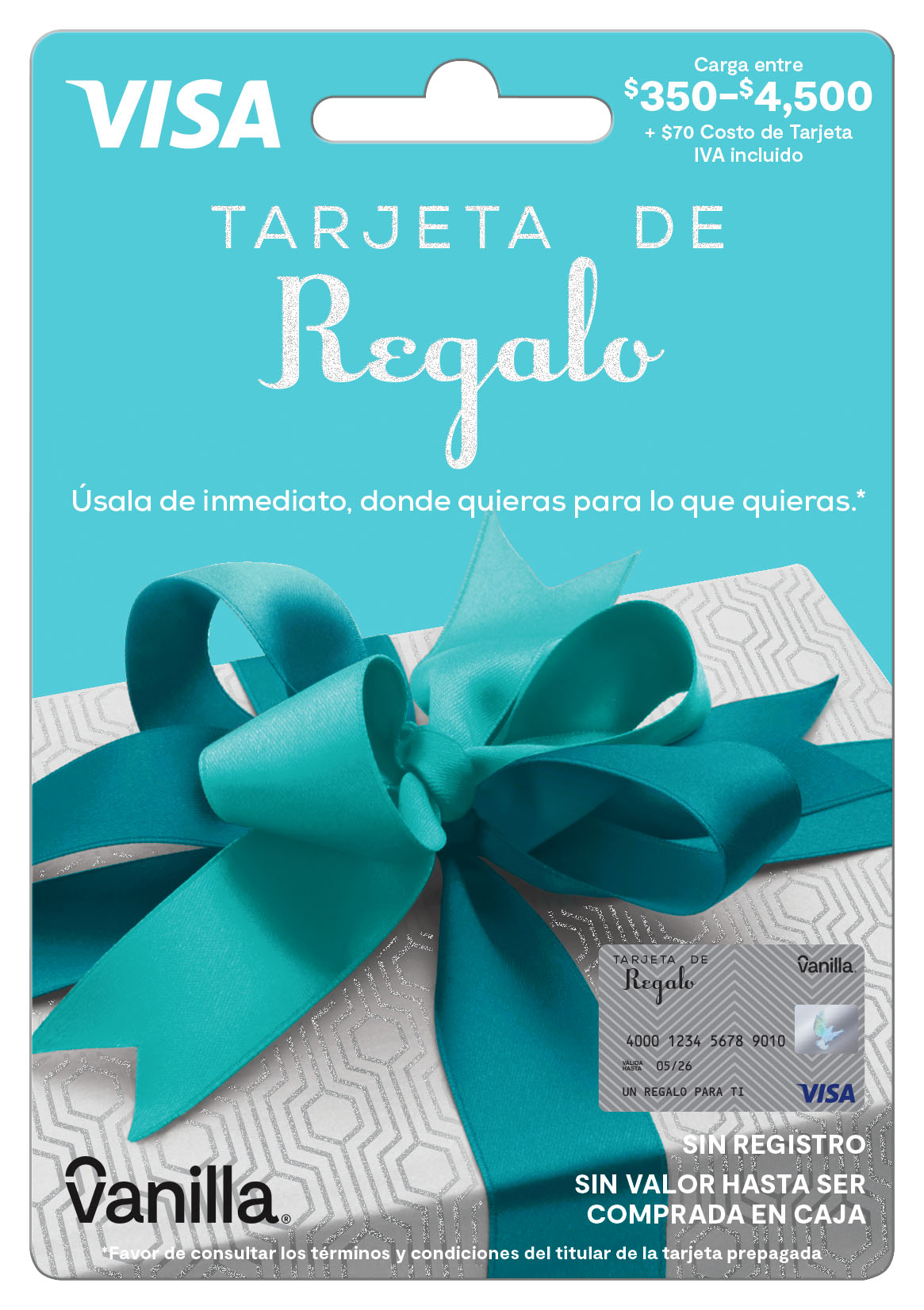 The Ideal Gift For Everyone Debuts In Mexico Vanilla Visa Global Prepaid And Gift Card Brand Launched