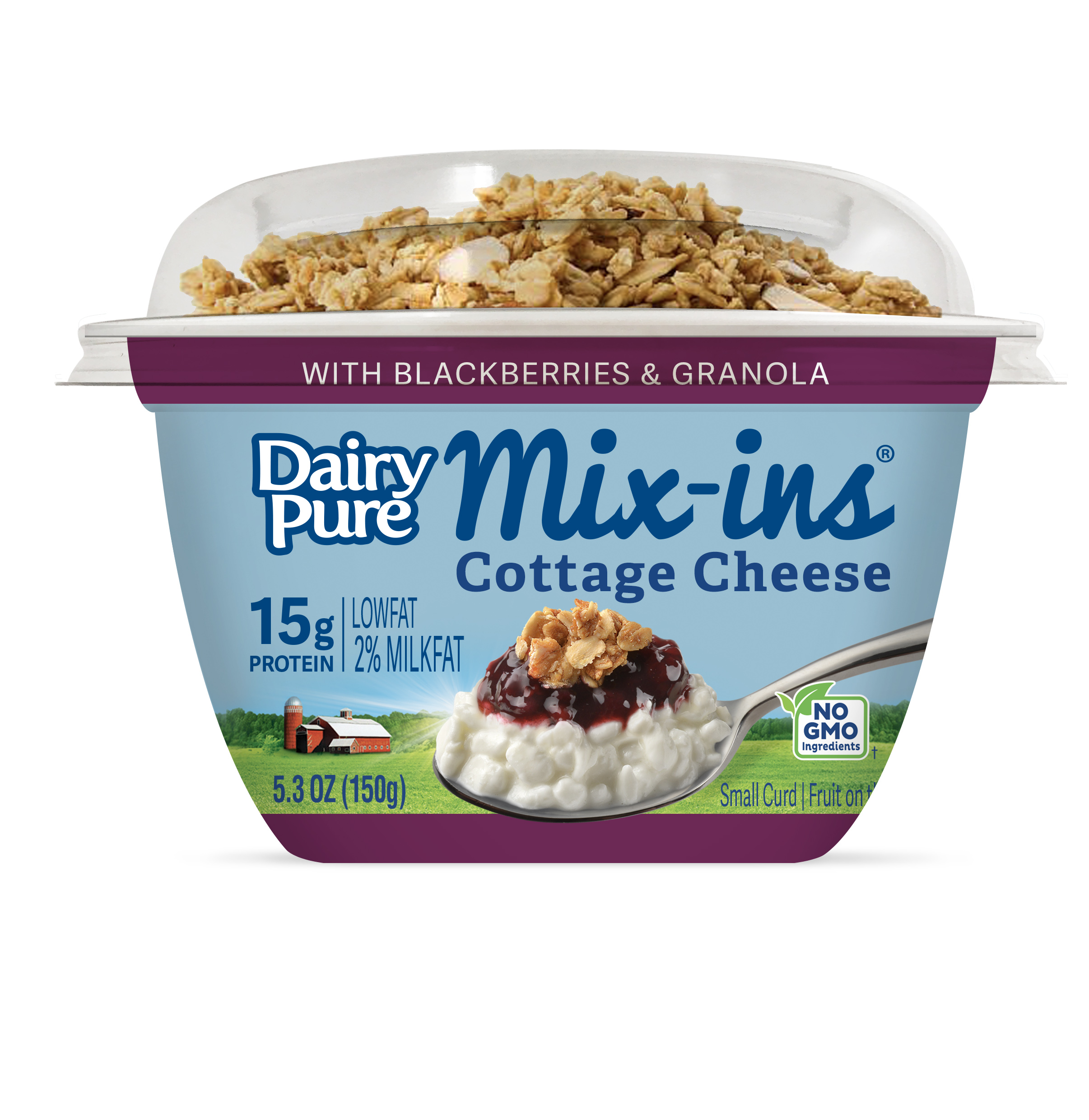 DairyPure Mix-ins Blackberries & Granola