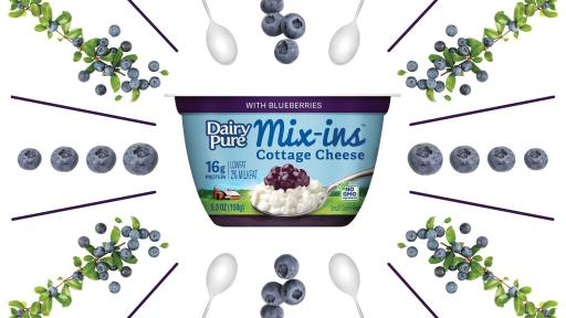 DairyPure Mix-ins Blueberry