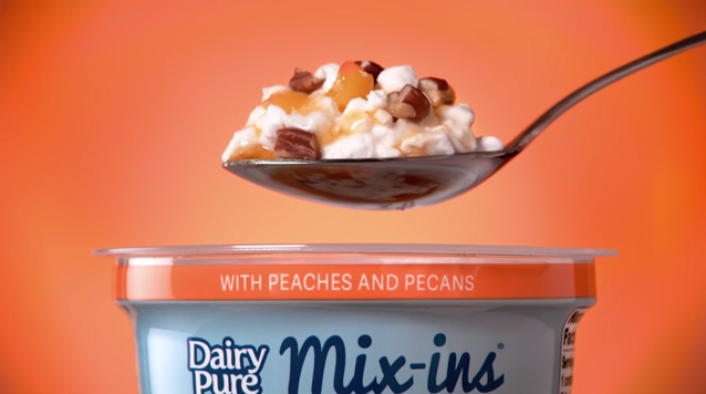 DairyPure Mix-ins Peaches & Pecan