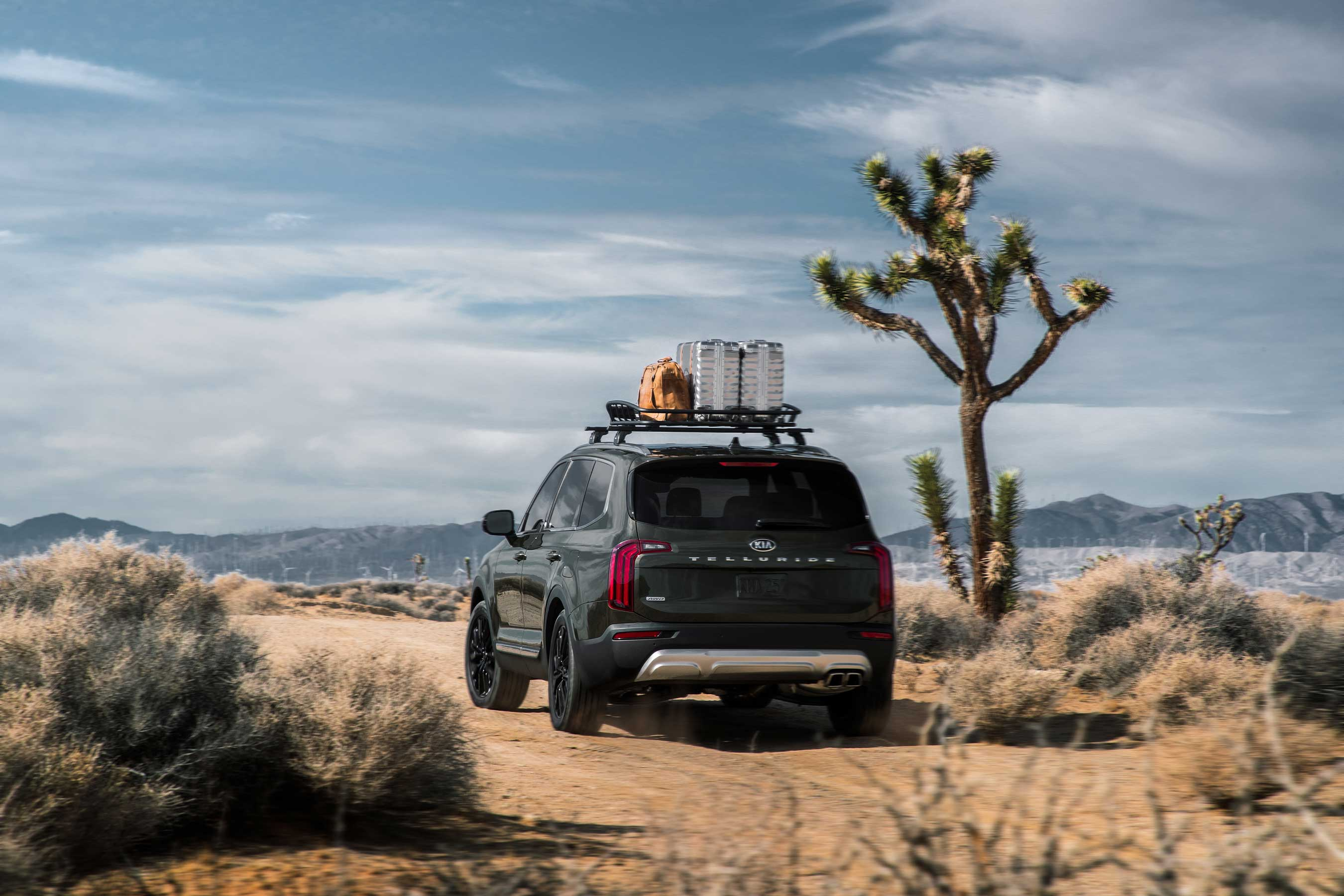 Big, bold and boxy, the all-new 2020 Kia Telluride is made for adventures.