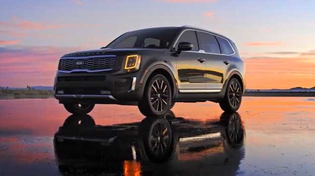 All New 2020 Kia Telluride Offers Rugged Luxury