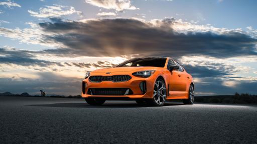 Limited-edition Kia Orange Stinger GTS