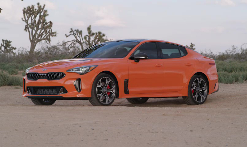 Limited-edition Kia Stinger GTS breaks cover at the New York International Auto Show.