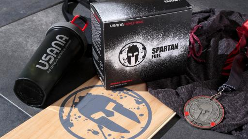 Spartan Drink products package and drink cup
