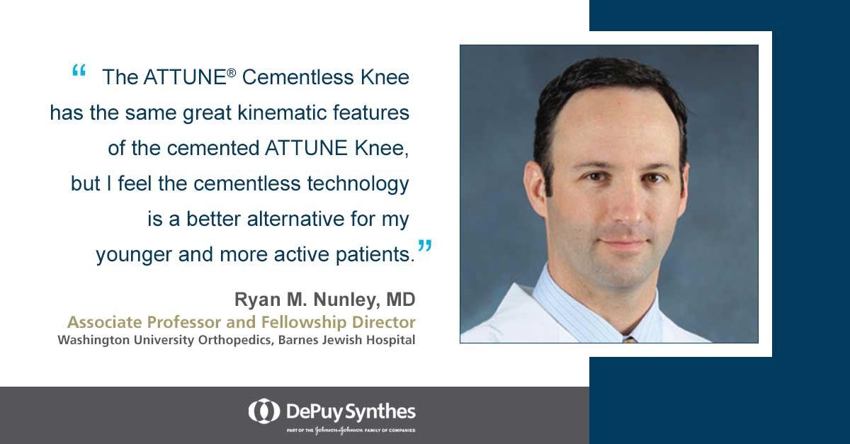 Dr. Ryan M. Nunley, MD