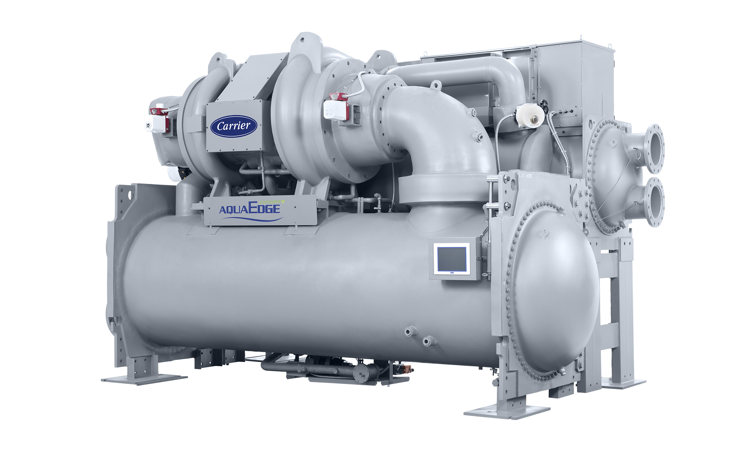 In 2019, the Carrier AquaEdge® 19DV water-cooled centrifugal chiller was recognized as a top chiller by leading organizations across four major regions of the world.
