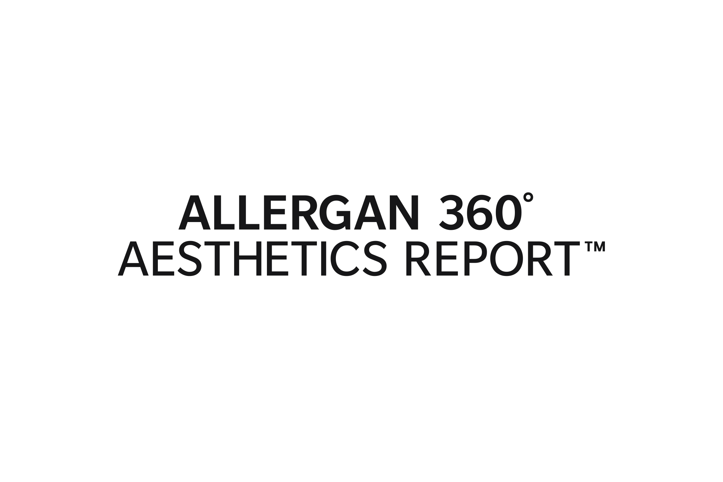 Allergan 360 Aesthetics Report logo