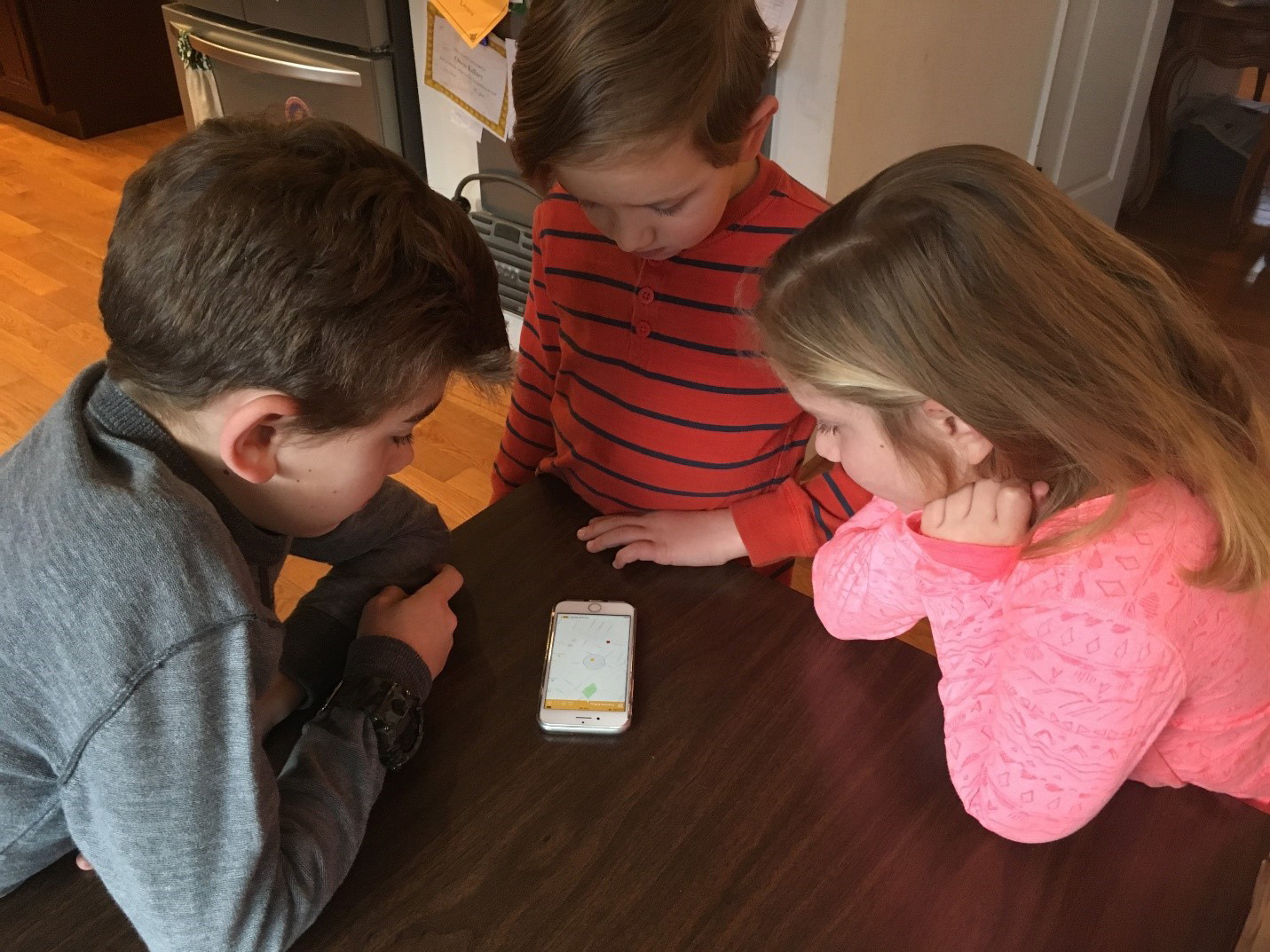 A Virginia family uses the free mobile app, Here Comes the Bus, to track the daily bus ride to and from school. The app has more than one million users and has accumulated 4.6. stars on the app store with more than 30,000 reviews.