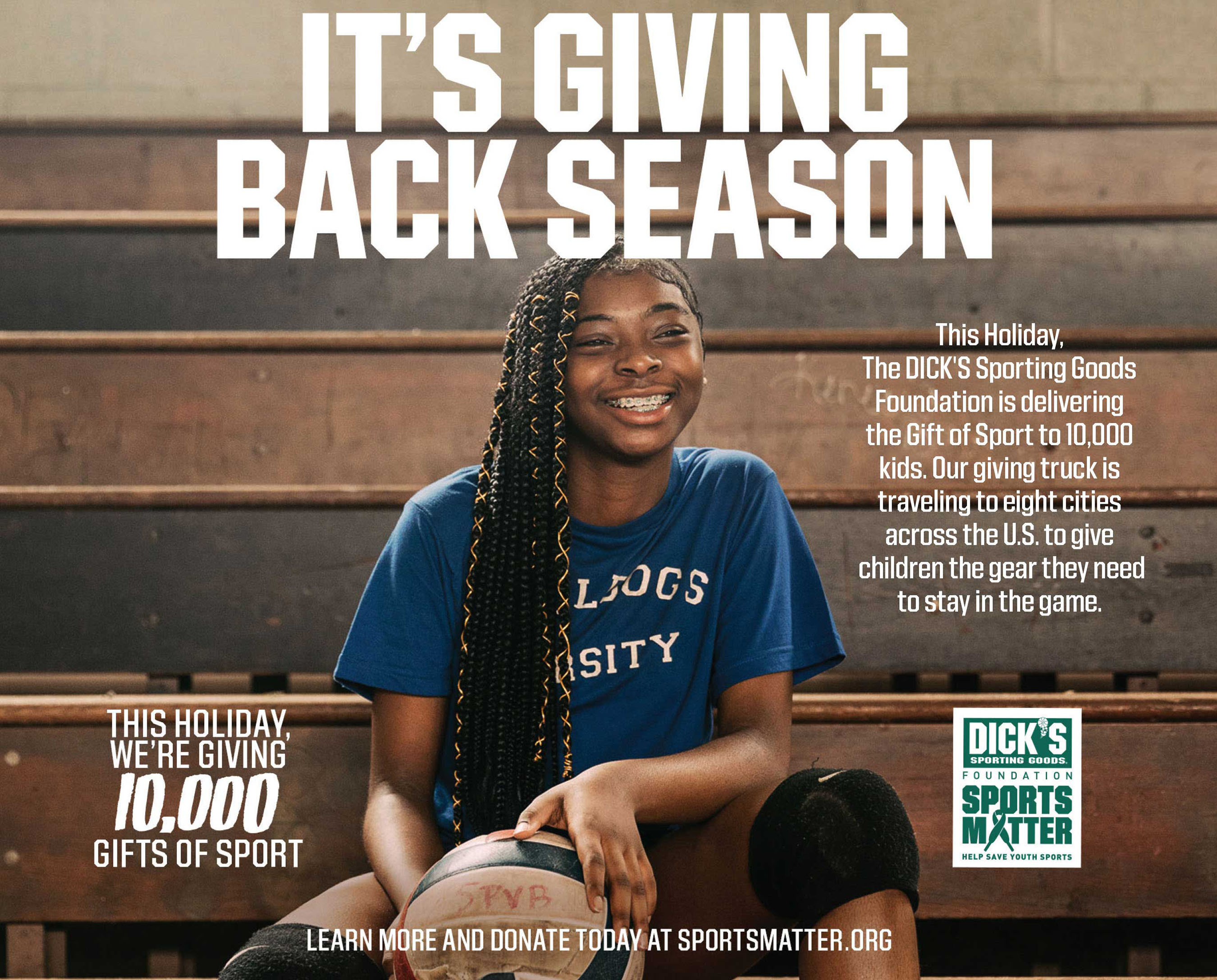 DICK'S Sporting Goods and The DICK'S Sporting Goods Foundation deliver the Magic of Sport to 10,000 kids with the help of Candace Parker, Matt Ryan, Black Griffin and the Pittsburgh Penguins
