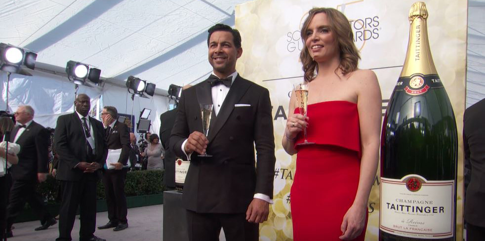 Champagne Taittinger Kicks Off the 25th Annual Screen Actors Guild Awards