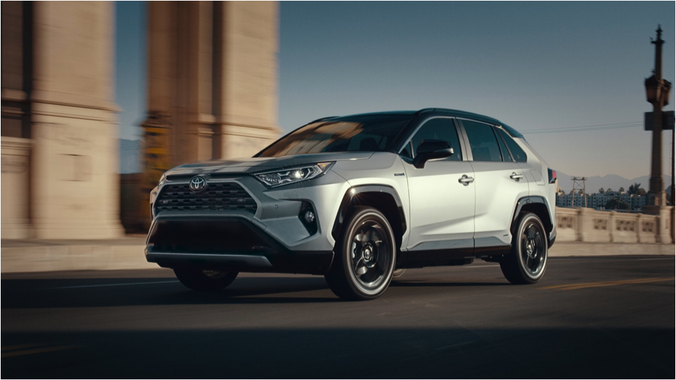 Toyota's 2019 Super Bowl spot features the all-new 2019 RAV4 HV.
