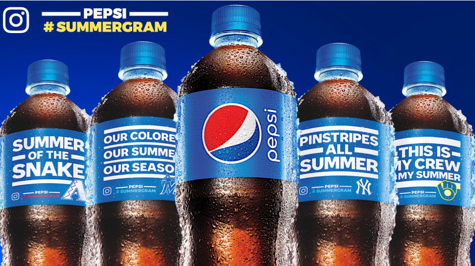 Pepsi #Summergram Baseball Statements