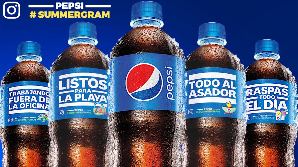 Spanish Language Pepsi #Summergram