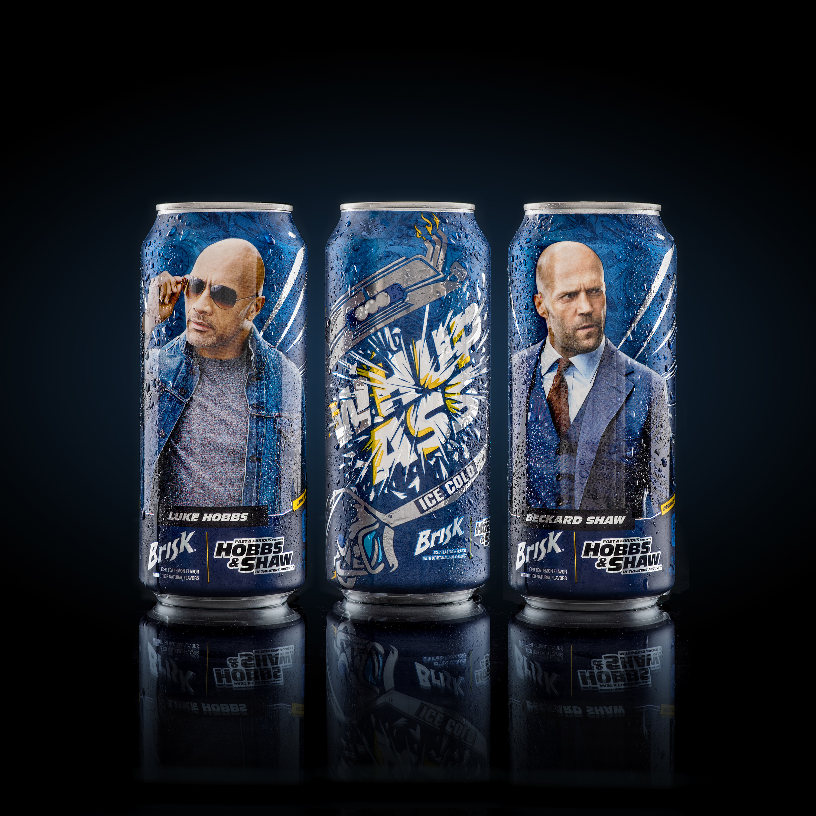 "Brisk Iced Tea Partners with Universal Pictures' ""Fast & Furious Presents: Hobbs & Shaw,"" introduces ""Cans of Whup Ass"""