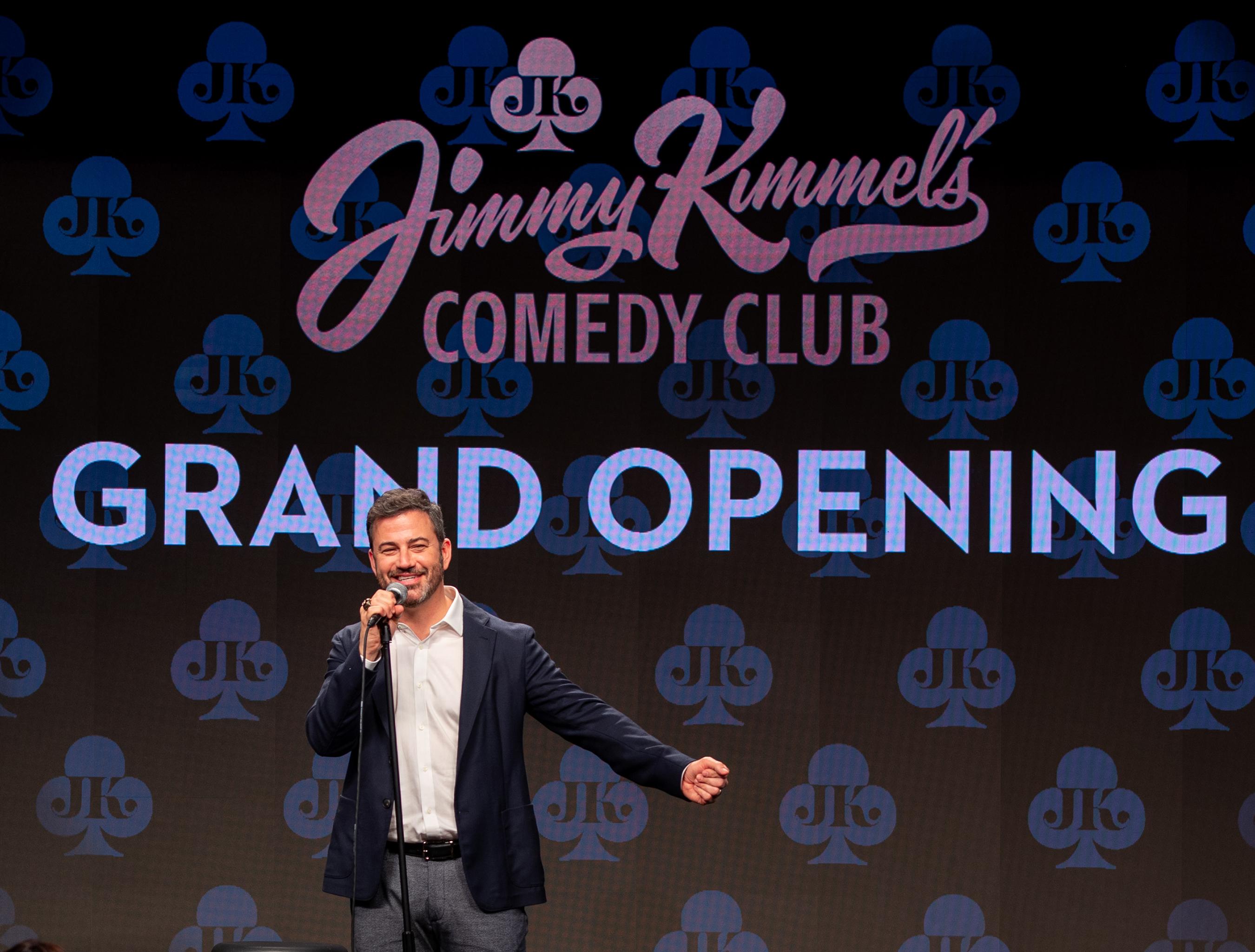 Jimmy Kimmel's Comedy Club Grand Opening (Photo Credit: Kabik Photo Group)